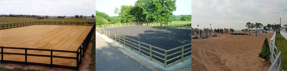 Complete Geotextile Horse Arenas